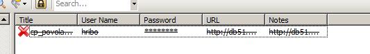 Kee Pass - Označenie starého hesla