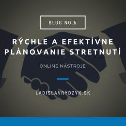 LR Blog no.6 - Rýchle a efektívne plánovanie stretnutí