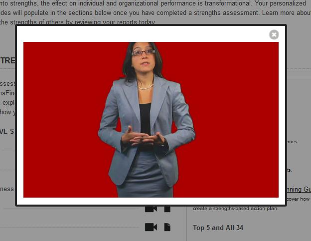 Gallup Strengths Center - Video pre každú vlastnosť